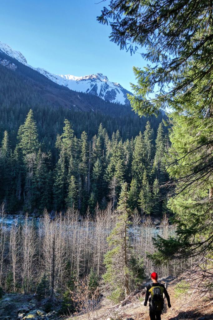 Pebble Creek Hotsprings Trail, Keyhole Falls, Pemberton, Hiking, Natural Hotsprings