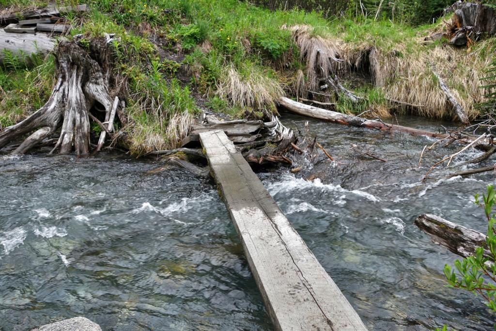 Viola Lake, Viola Lake Trail
