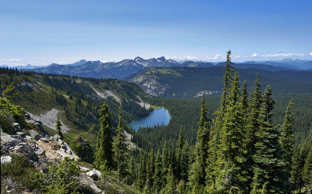 Nicomen Lake, Manning Park, Heather Trail