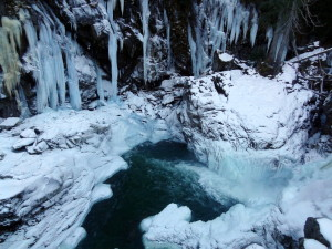 Frozen Nairn Falls