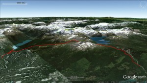 Google Earth 3D View