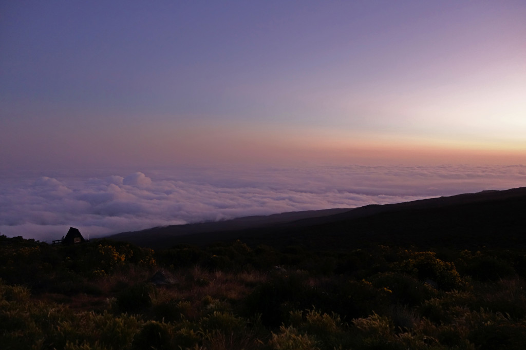 Horombo Hut Sunset marangu trail mt kilimanjaro