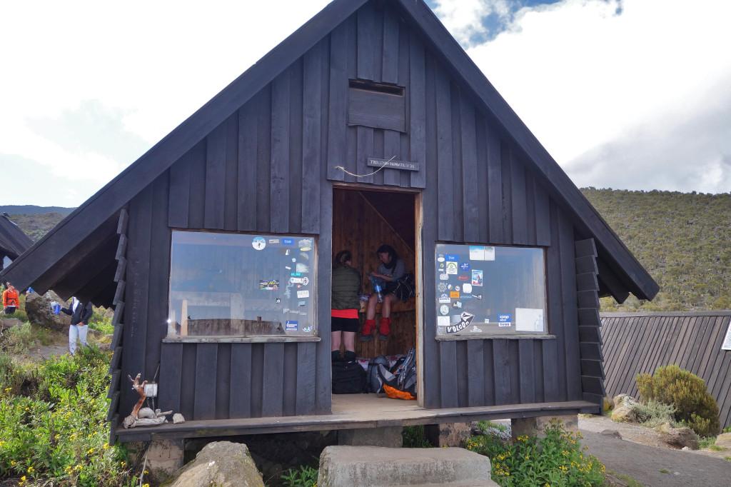 Horombo Hut marangu route mt kilimanjaro
