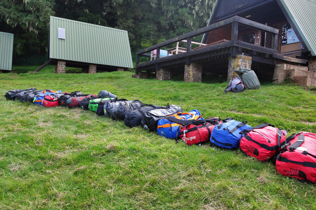 Mandara Huts marangu route mt kilimanjaro