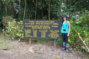 Marangu Gate Mt Kilimanjaro 2014