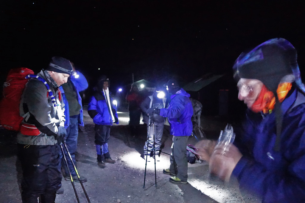 Start of the Ascent marangu route mt kilimanjaro uhuru peak