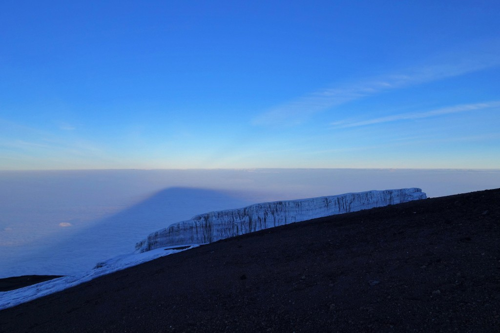 Sunrise on the Winter Solstice Marangu Route Mt. Kilimanjaro Uhuru Peak