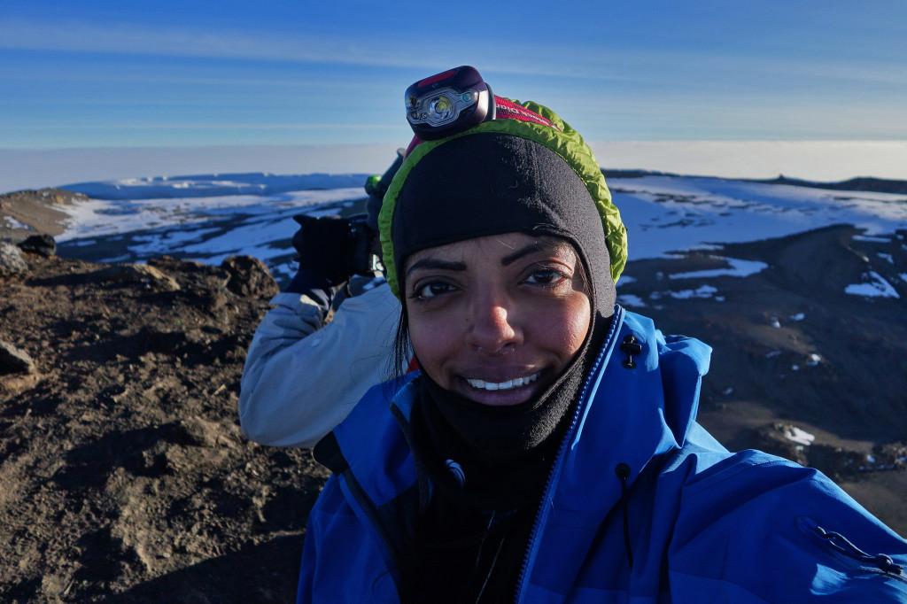 Summit Selfie Uhuru Peak Mt Kilimanjaro Tanzania