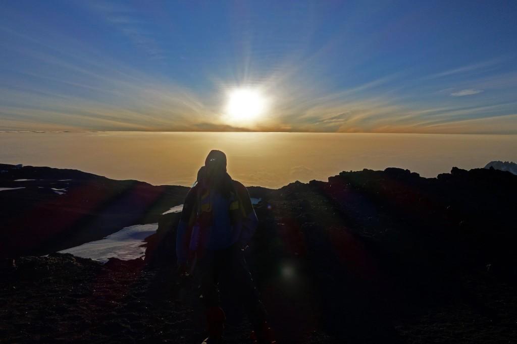 Uhuru Peak Mt Kilimanjaro Tanzania