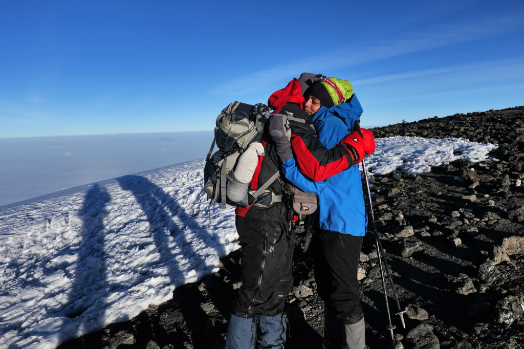 Uhuru Peak Mt. Kilimanjaro Marangu Route Tanzania