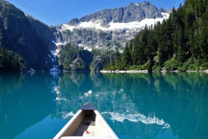 View from the canoe