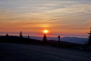Manning Park sunrise