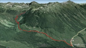 2015-02-14 - Rohr Lake - Google Earth 3d with BG waypoints