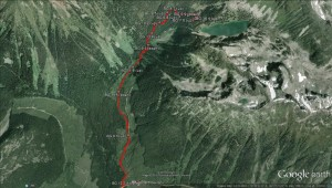 2015-02-14 - Rohr Lake - Google Earth birdseye with BG waypoints