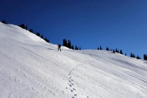 Climbing Panorama Ridge