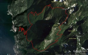 2015-03-07 - Magnesia Meadows overnighter - Google Earth birdseye