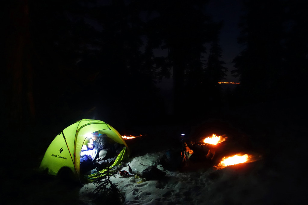 Winter Camping on the Howe Sound Crest Trail