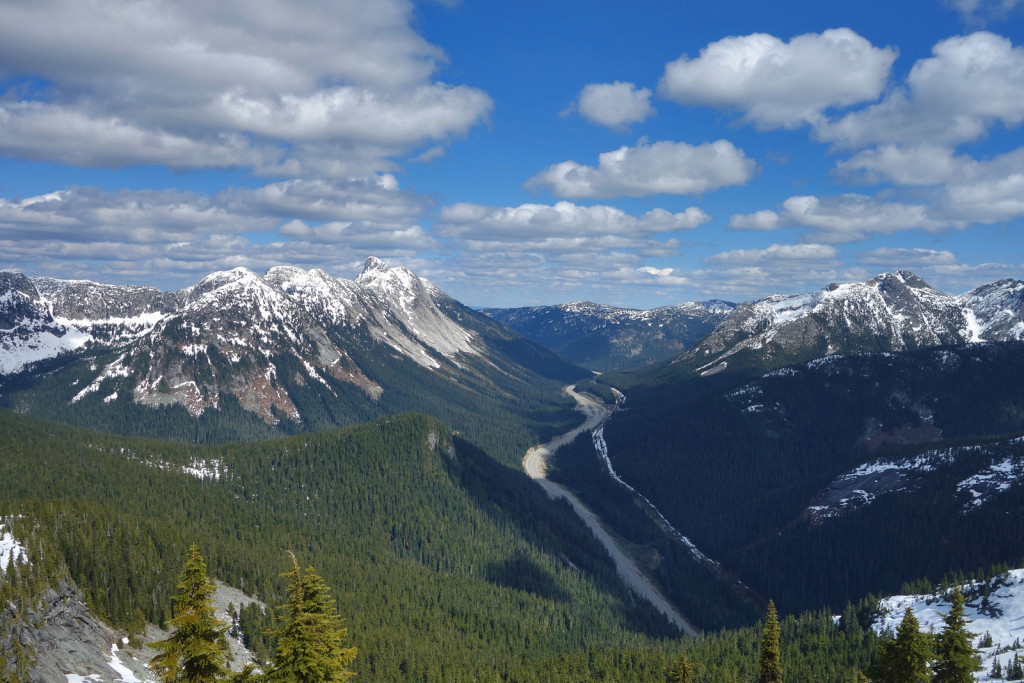 View of the Coquihalla Highway
