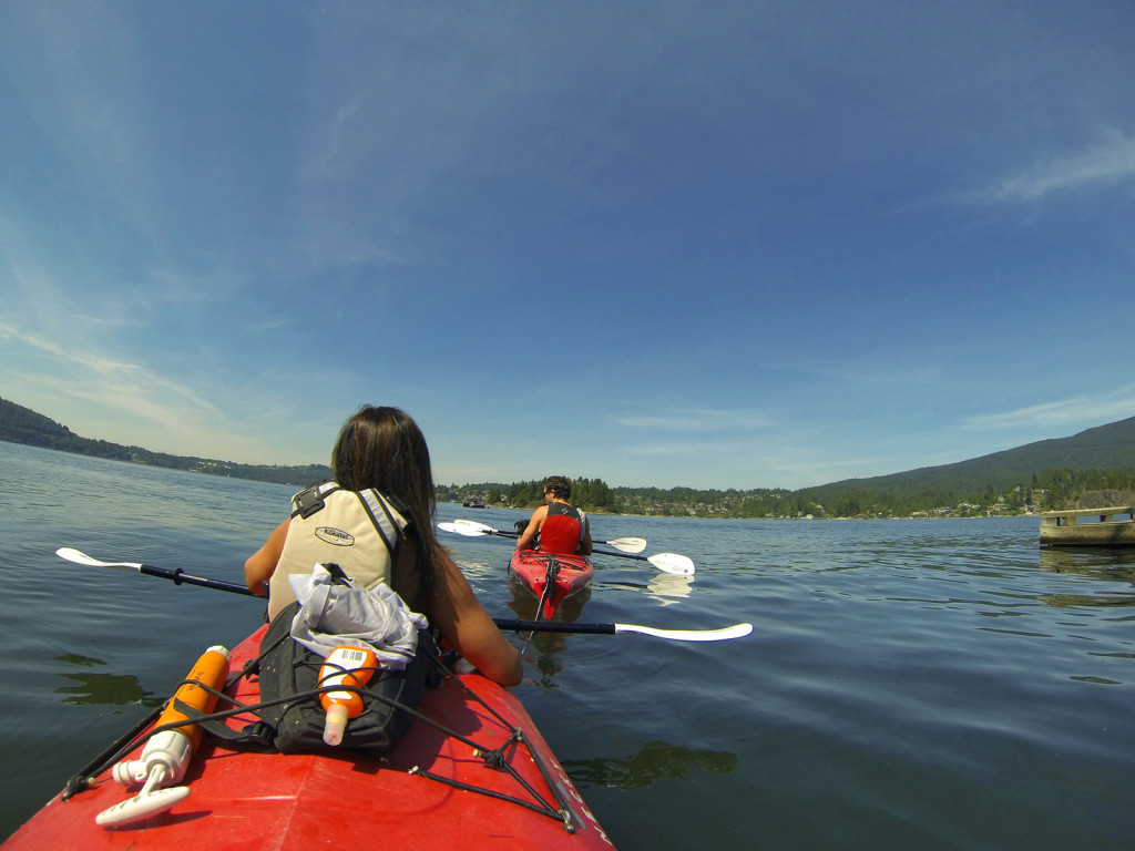 Kayaking the Indian Arm Twin Islands Belcarra Bay