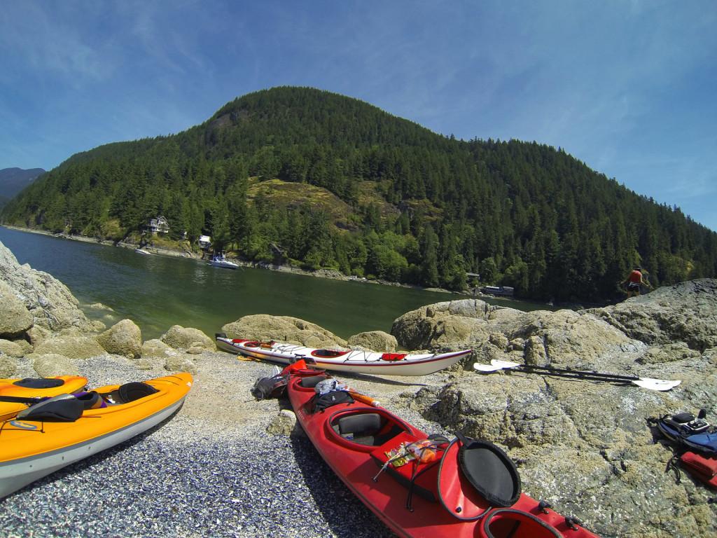 Twin Islands, Indian Arm Kayak