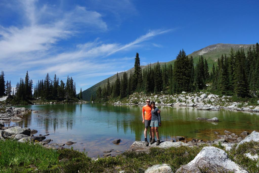 Ryan and I at Kidney Lake Blowdown FSR Duffey Highway