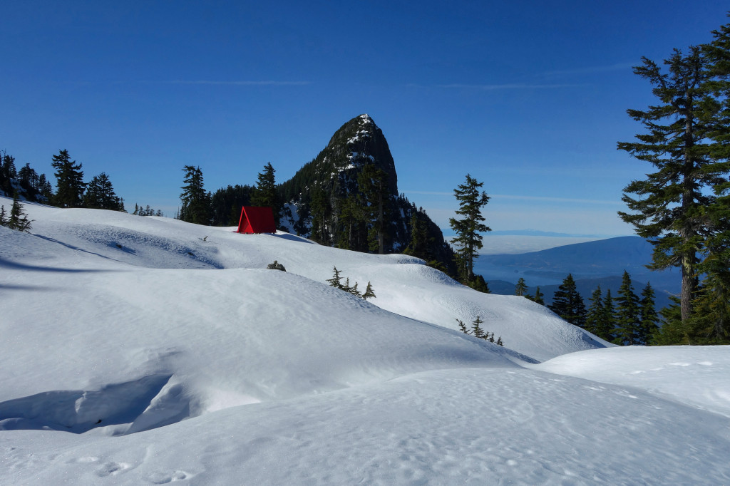 howe sound crest trail, hsct, winter camping, north shore, lions bay, type 1 diabetes, adventures of a t1d, ashika parsad,