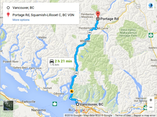 Google Map to Birkenhead Mt. Ronayne