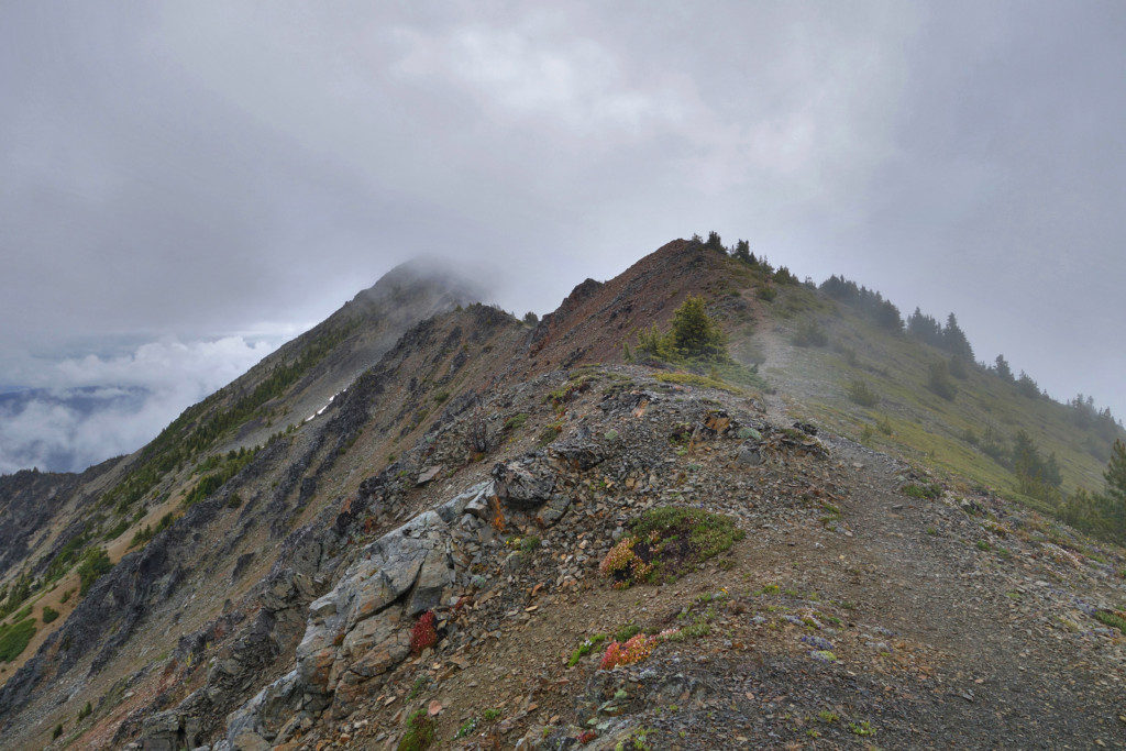 Trail to First Brother Peak