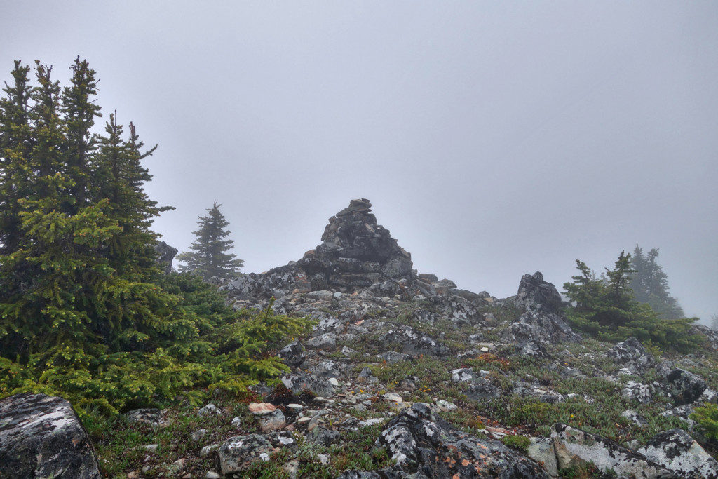 Summit Cairn on Second Brother Peak
