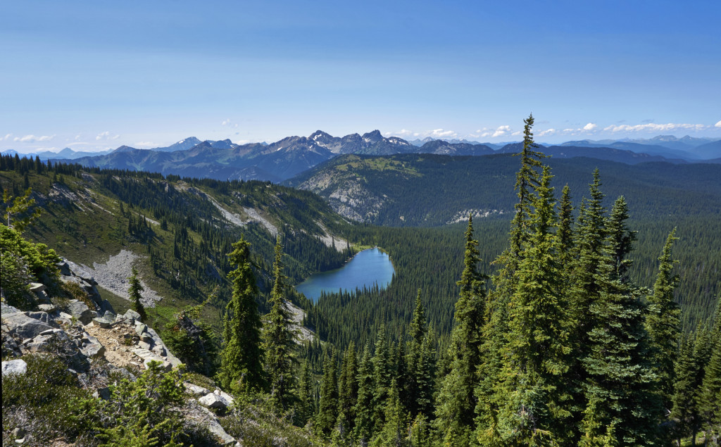 Nicomen Lake, Manning Park, Heather Trail